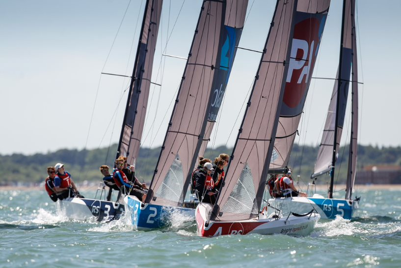 RS21s charging to the next mark