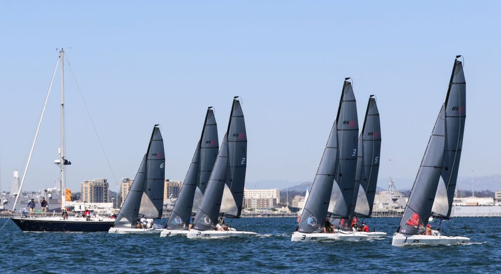 RS21's At the start line for the NOOD events