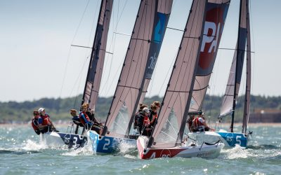 The British Keelboat League Final is about to kick off!