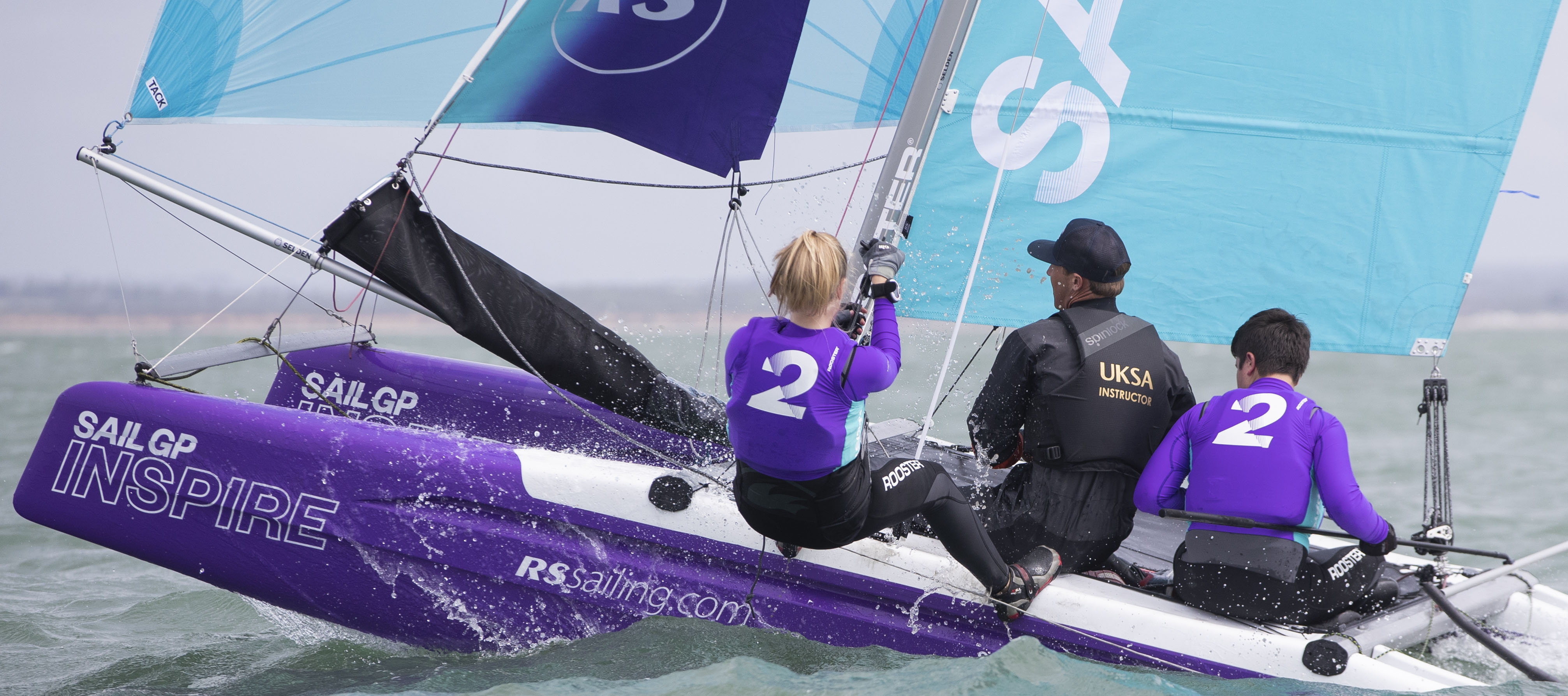 OFFICIAL PARTNER OF THE SAILGP INSPIRE PROGRAM