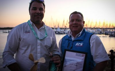 RS Sailing Joint Winners of the Green Blue Environmental Award at the 2019 Southampton International Boat Show