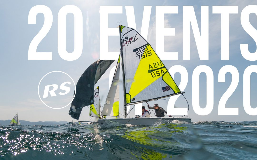 20 RS Events of 2020 – RS Feva North American Championship