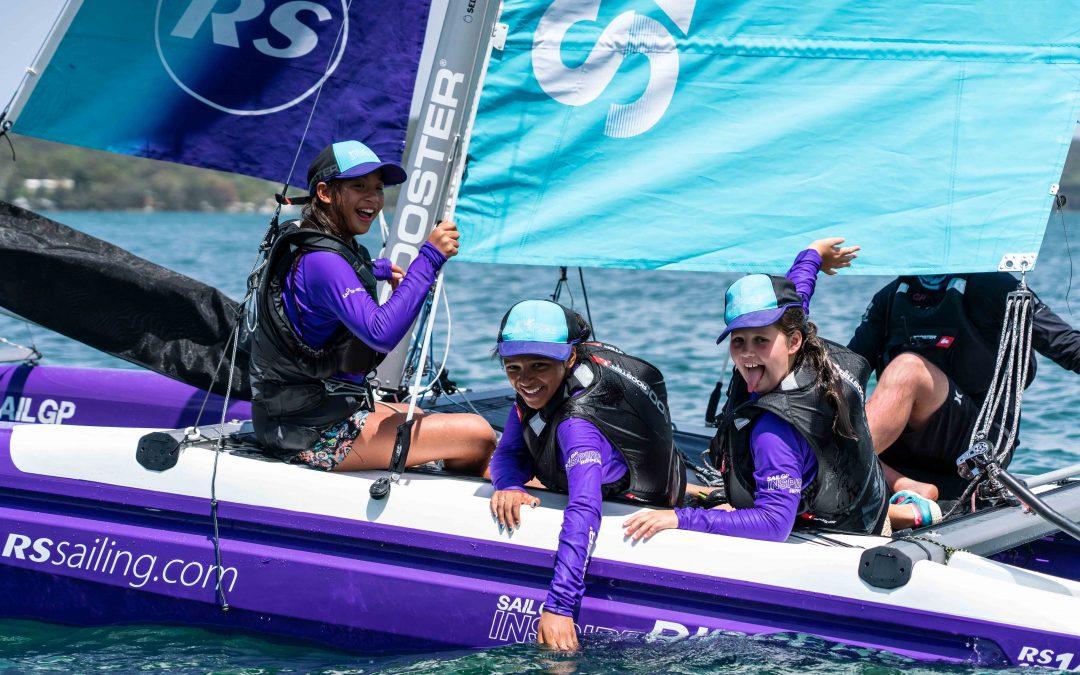 SailGP inspiring Sydney's next generation