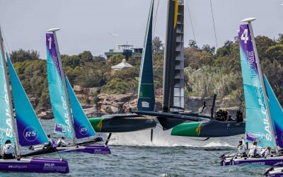 SailGP Inspire program Season 2 has officially kicked off and this time it was the turn of the Sydney Harbours' young sailors to be awed by all things SailGP