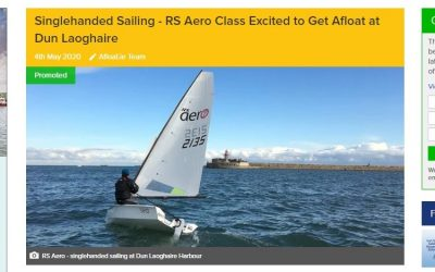 Singlehanded Sailing – RS Aero Class Excited to Get Afloat at Dun Laoghaire