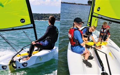 Why is the RS Zest the right sailboat for you?