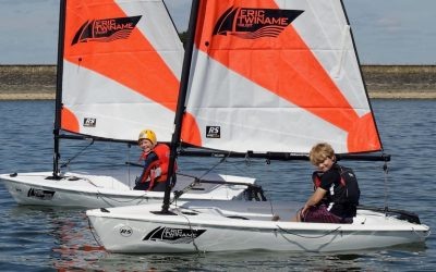 Eric Twiname Trust supports RS Tera youth sailing at Staunton Harold Sailing Club