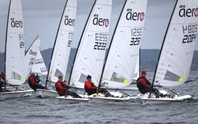 RS Aeros at the Turkey Bowl Regatta – CYC Seattle, WA, USA,