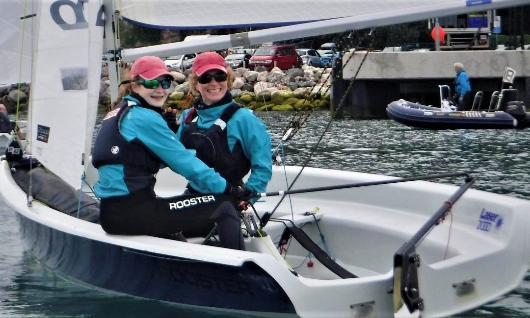 Gwen Sargent shares her experience racing with her Mum at her first 2000 Class National Championship