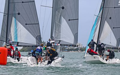 The Sears Cup at US Sailing's 2021 U.S. Chubb Junior Championships will be sailed in a fleet of RS21s