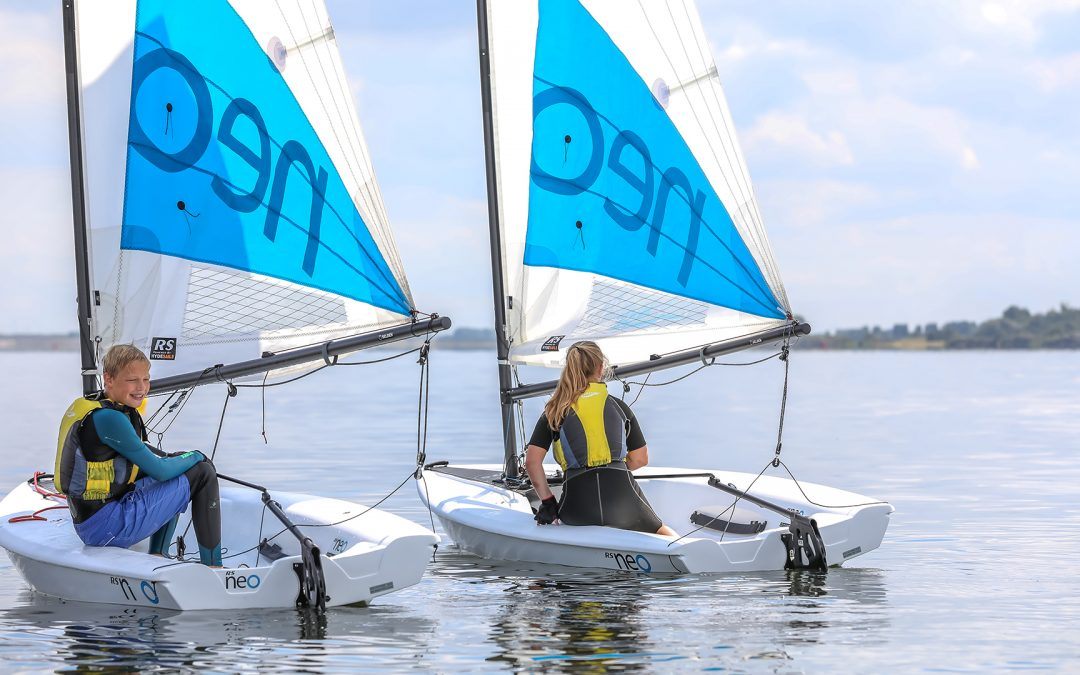 The RS Neo – The best sailing dinghy for learning to sail