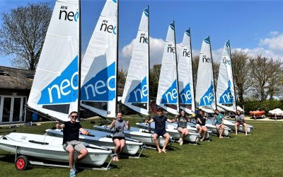 RS Sailing have put together a fleet of 6 RS Neos to support grassroots sailing and racing in the UK