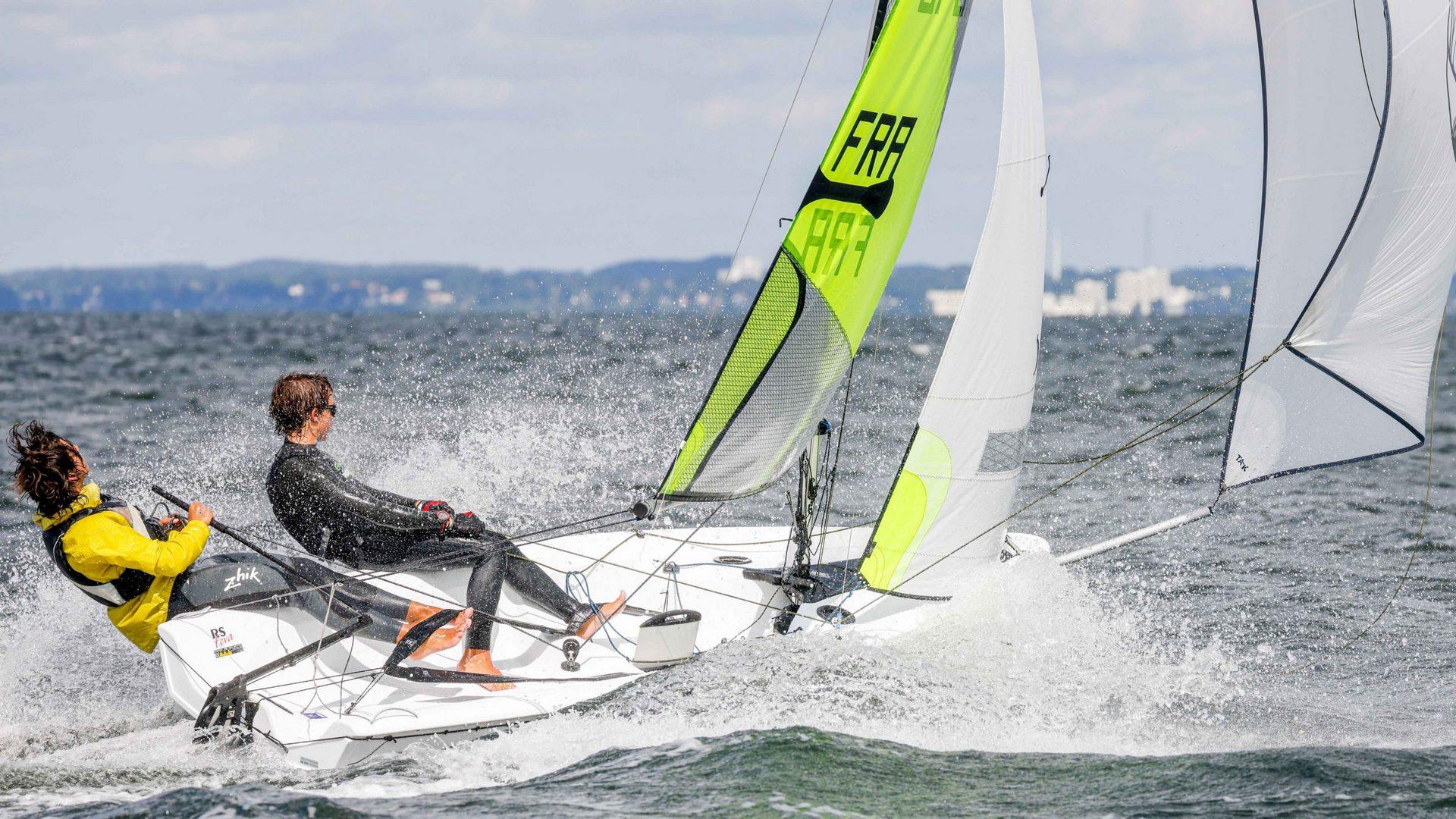 Lisandru Bunel & Thomas Kuntze crowned RS Feva World Champions