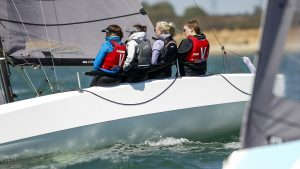 RS21 British Keelboat league event,The Solent,